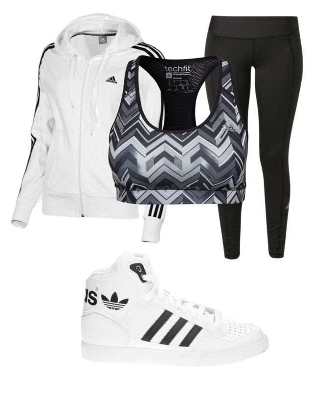 U0026quot;adidasu0026quot; By Pinkunicorn007 Liked On Polyvore Featuring Adidas And Plus Size Clothing | My ...