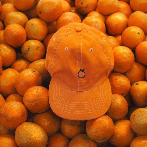 ISO UNIF ORANGE HAT major ISO!! UNIF Accessories Hats