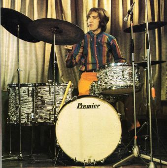 Mitch Mitchell drummer for Jimi Hendrix