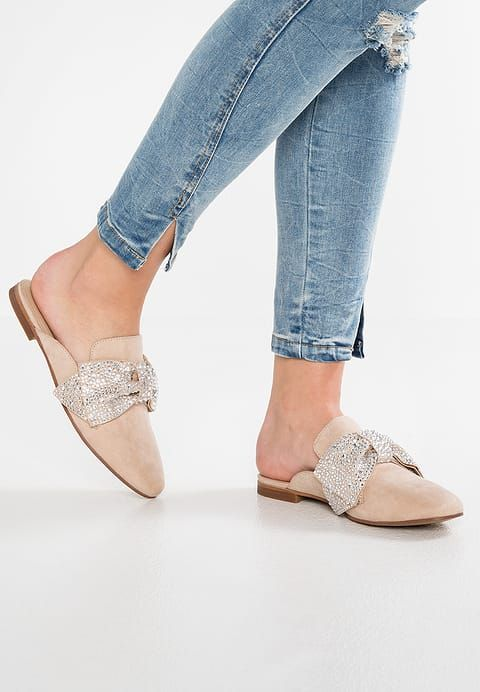 191aa1f8b73 HARLAN - Mules - natural @ Zalando.co.uk 🛒 | Spring Summer 2018 ...