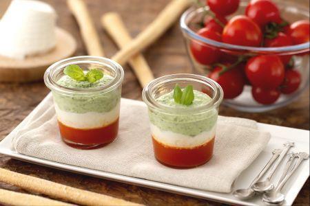 #Caprese #Fingerfood un antipasto estivo e diverso dal classico pomodoro e mozzarella. #ricette #cucina