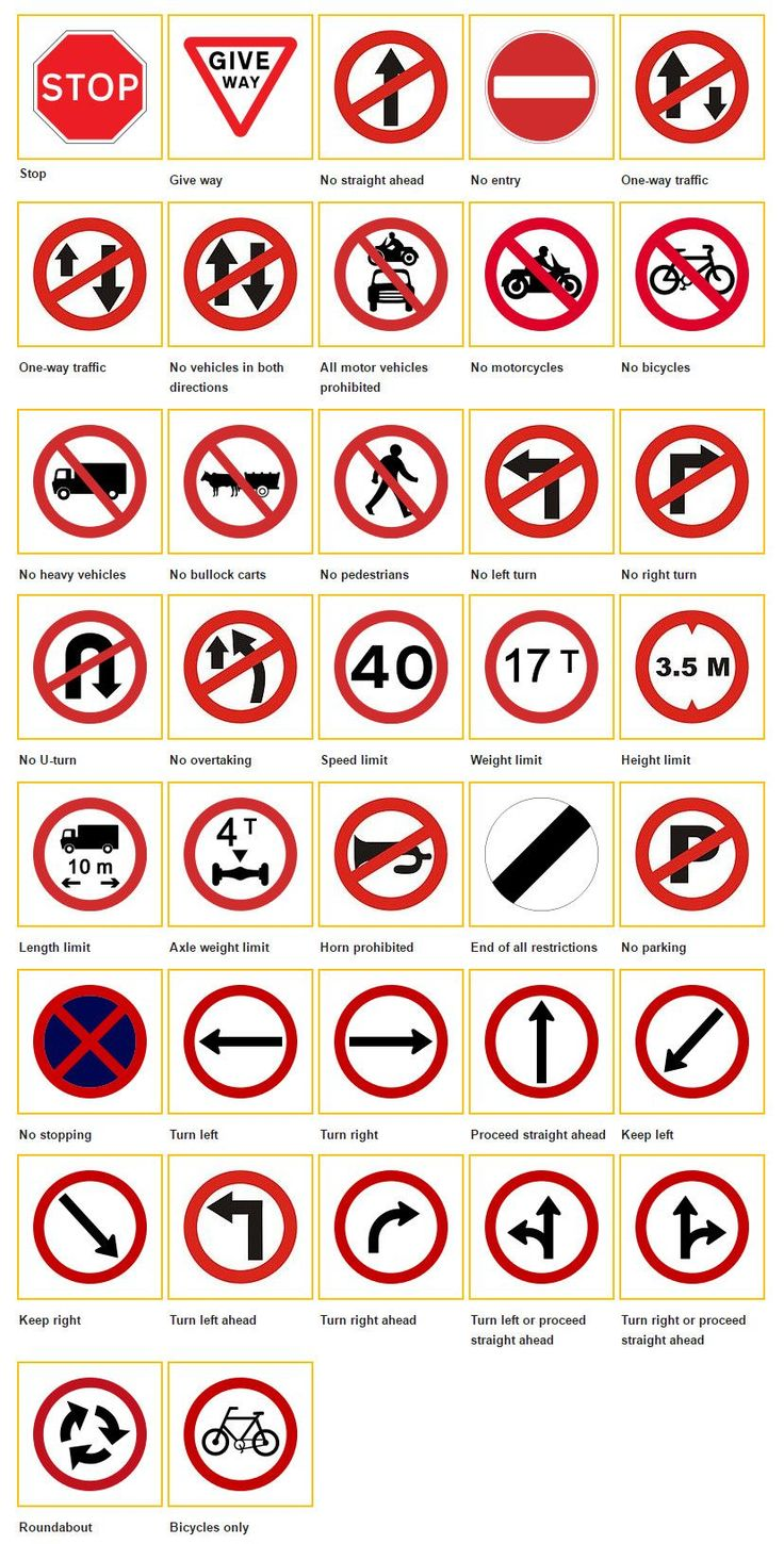 signal signs for driving driving signs noticeable traffic