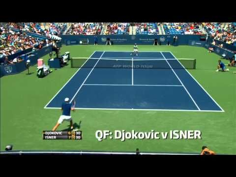 A countdown of the most recent Hot Shots from the 2013 Western and Southern Open