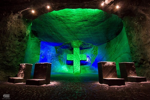 Salt Cathedral Series (First Colombian wonder)
