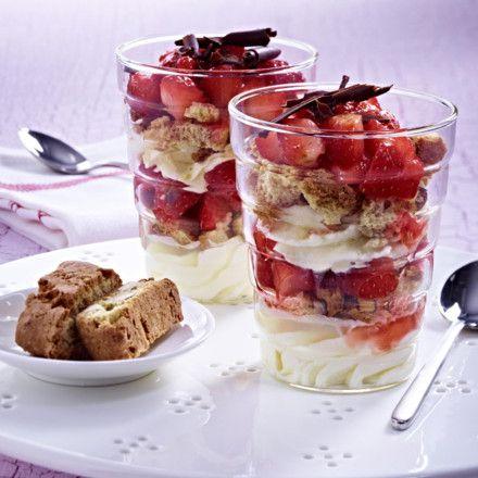 Erdbeer- Mascarpone-Träumchen