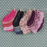 Baby bloomers for little girls