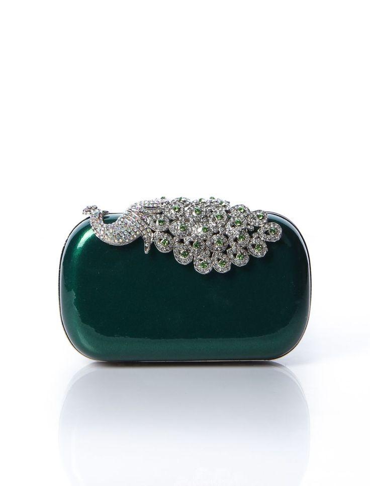 Yeşil Abiye Çanta