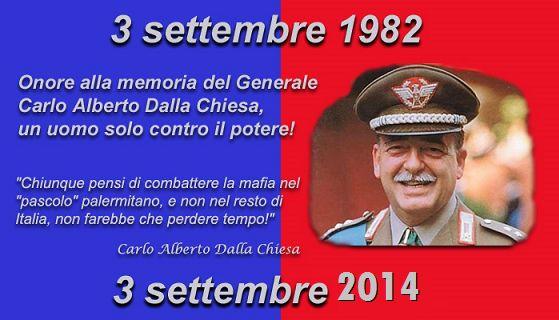 32 anni fa moriva assassinato il Generale Dalla Chiesa. Lasciato solo da tutti