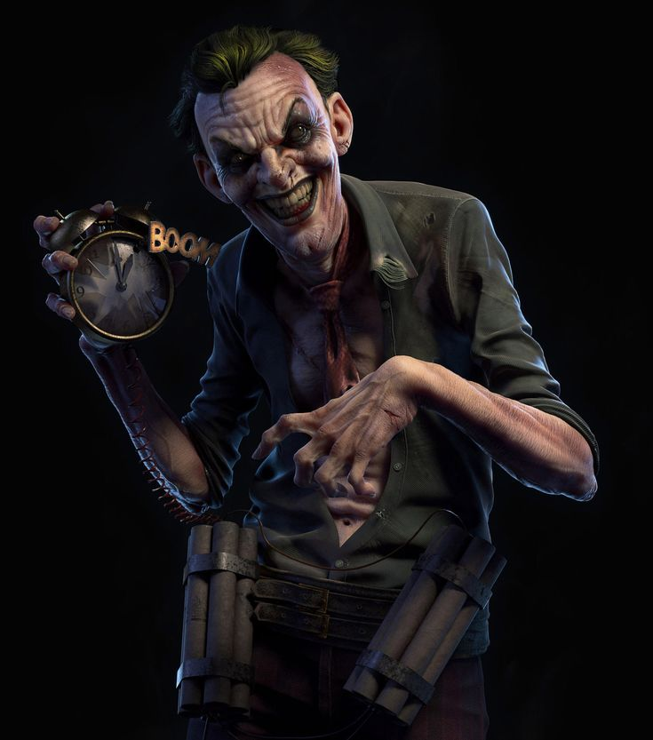 The Joker`s final attack - comicon challenge 2014, Danilo Athayde on ArtStation at http://www.artstation.com/artwork/the-joker-for-comicon-challenge-2014