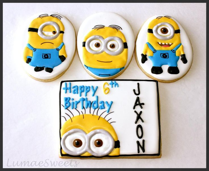 Minion cookies | Cookie Connection