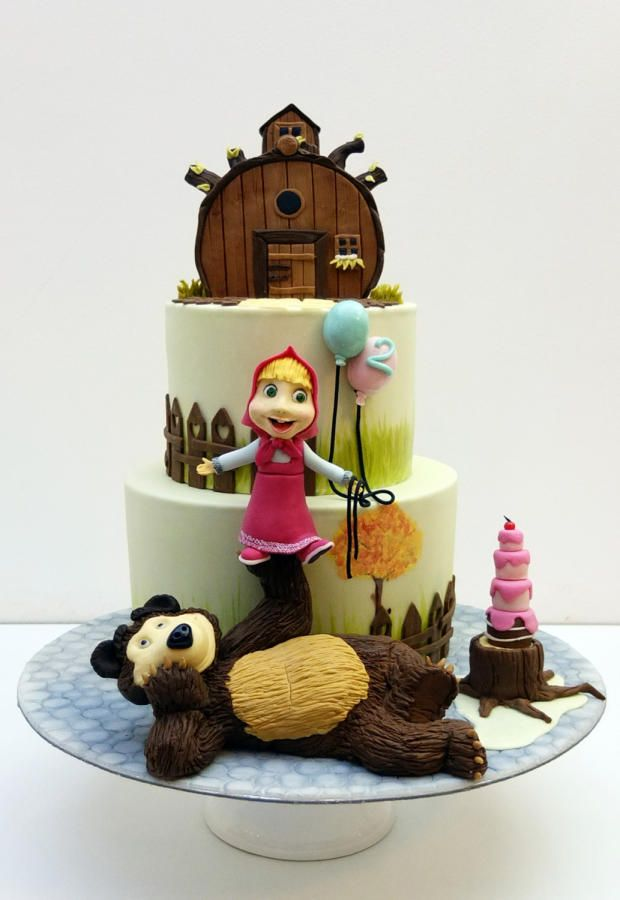 Masha and The Bear - Cake by SWEET architect