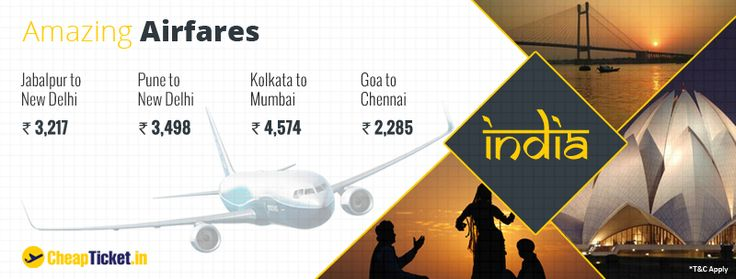 Buy Air Tickets with us at attractive fare : Cheapticket.in