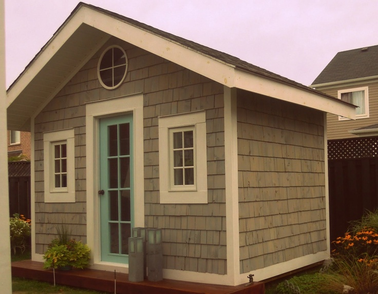 1000 images about shed backyard studio ideas on pinterest for Cottage bunkie plans