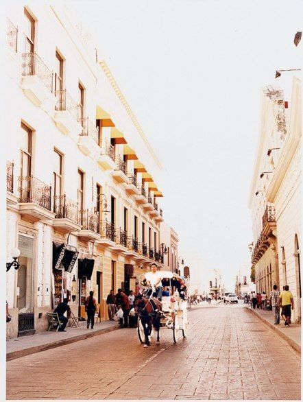 Mérida is laid out as a numerical grid with long, straight avenues like Calle 60 , ideal for walking (though horse-and-buggies also abound).