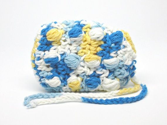 Soap Sack, Massaging Soap Saver, Crochet Soap Pouch, Spa Soap Cozy, Soap Holder, Spa Bath Scrubbie, Shower Accessory, Gift Wrapped