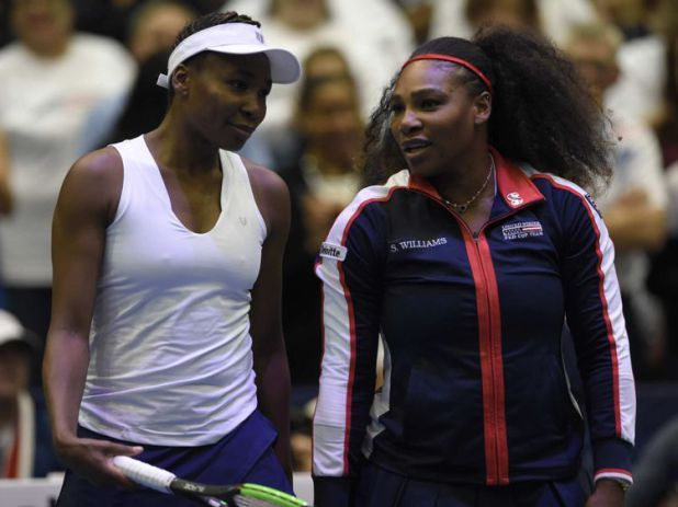 Serena Williams back on court after pregnancy Latest News