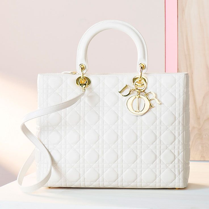 Covet this Christian Dior handbag.