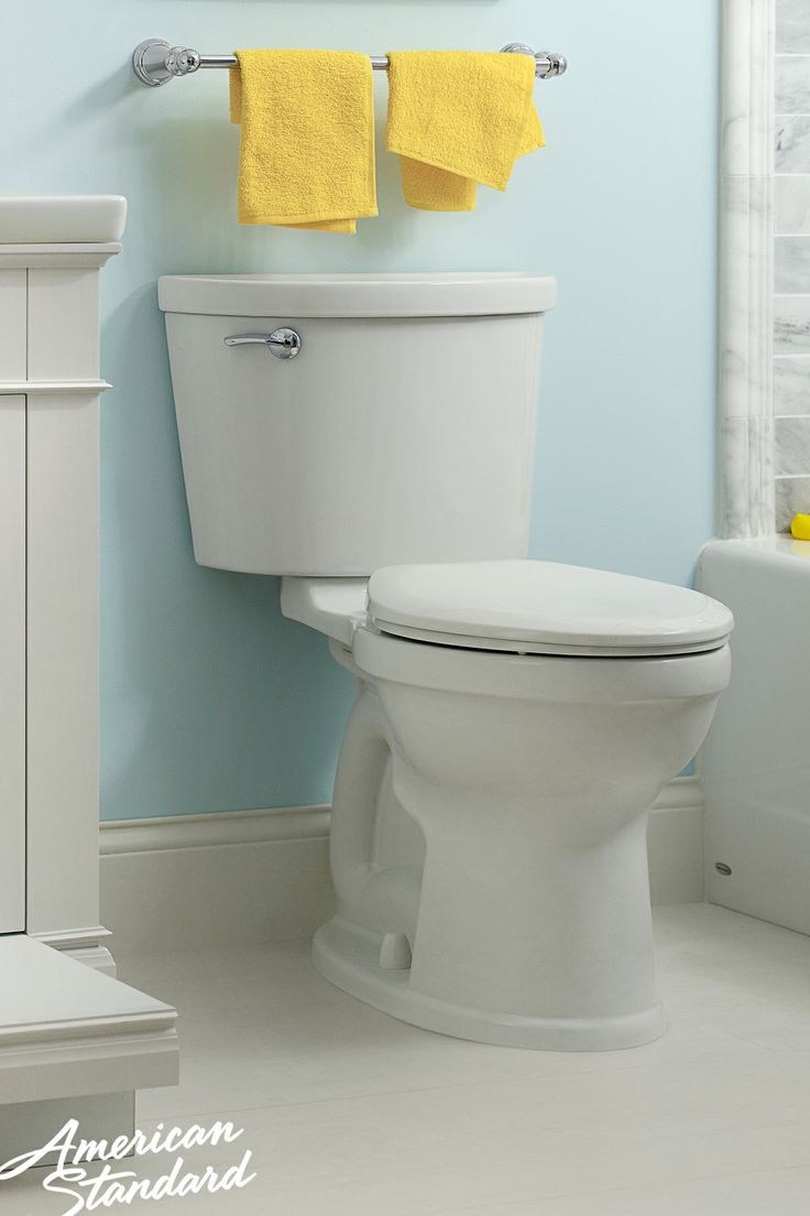 prograde performance plus designer style using just gallons thistradeexclusive high efficiency toilet produces a faster more powerfulflush that can.  best map tested toilets images on pinterest  american standard