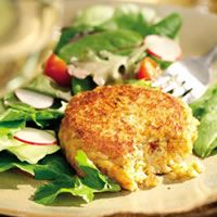 Brown-Rice and Goat-Cheese Cakes | Everyday Health
