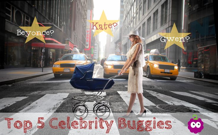 Our Top 5 Celebrity Buggies -- which prams do the celebs love?