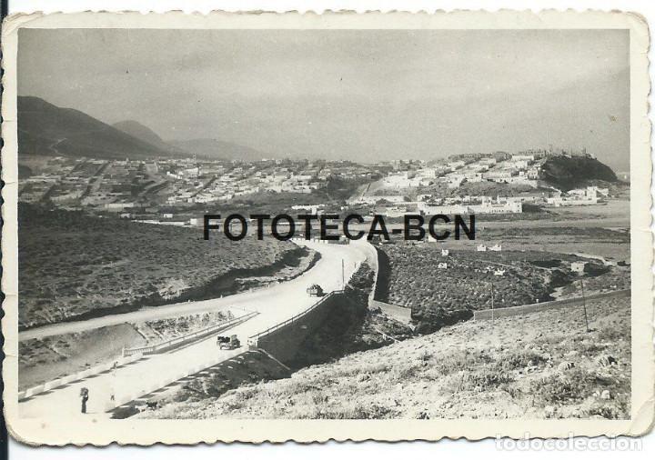 Fotografía antigua: FOTO ORIGINAL VISTA DE SIDI IFNI PROTECTORADO ESPAÑOL MARRUECOS AÑO 1958 - 11X7 CM - Foto 1 - 87368492