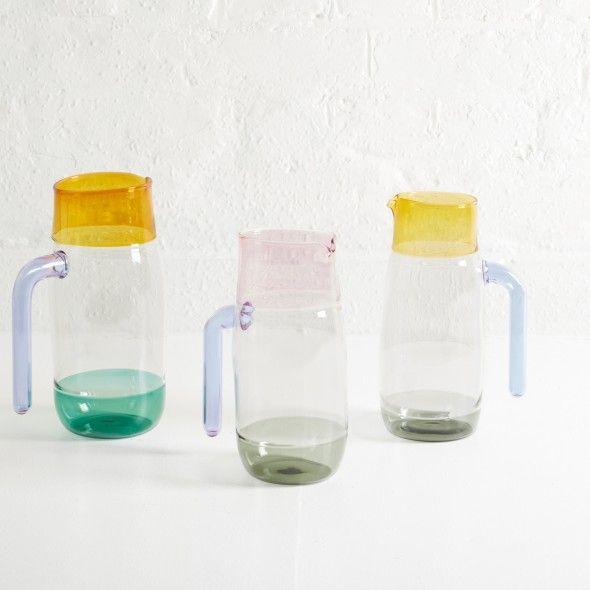 3 Colour Incalmo Jug by Jochen Holz