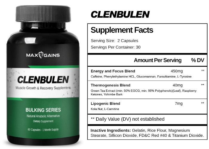 Image result for Clenbulen