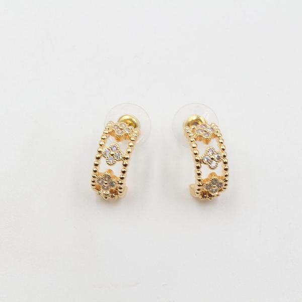 حلق فان كليف زركون Accessories Earrings Stud Earrings Jewelry