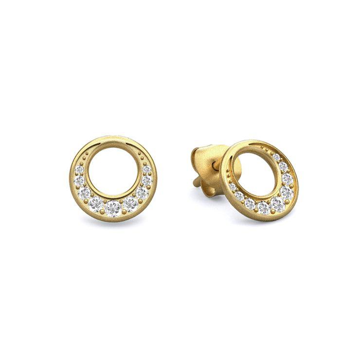 New Moon earrings - Julie Sandlau