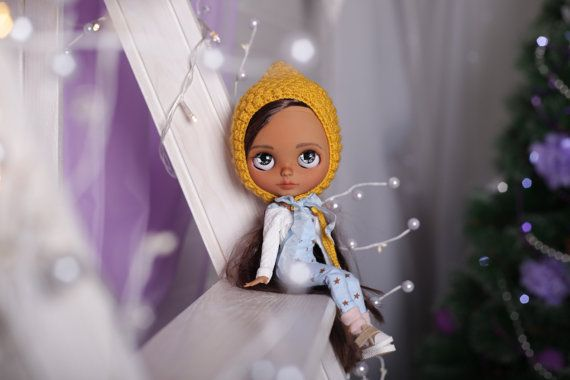 Custom Blythe Doll READY doll Collection doll TBL blythe doll Customized Blythe OOAK doll Sanded Blythe Collectable doll Art doll by Diana E