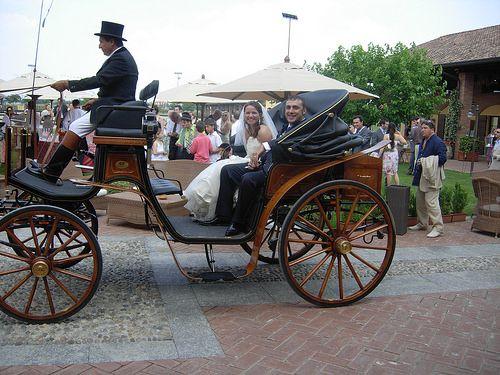 Carrozza con cavalli