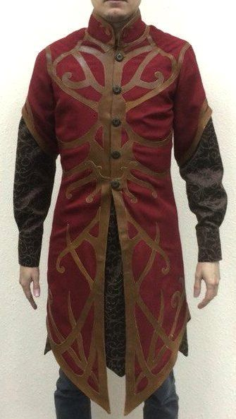 Dress in the style of Elvish. - Shirt - Outerwear You can choose colors and patterns All sewn under your sizes