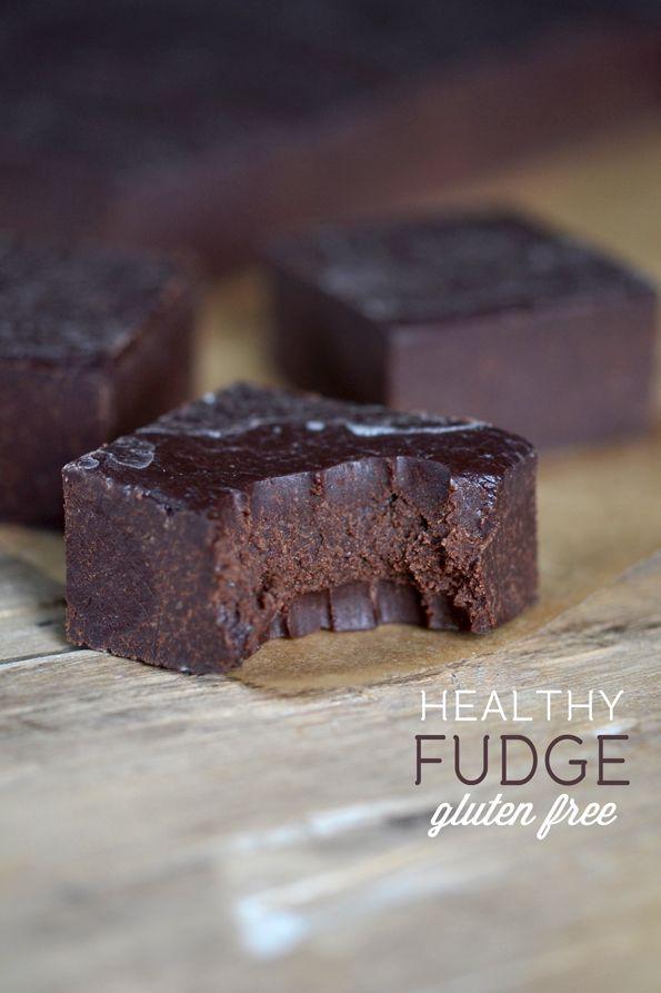 Healthy Paleo Gluten Free Fudge