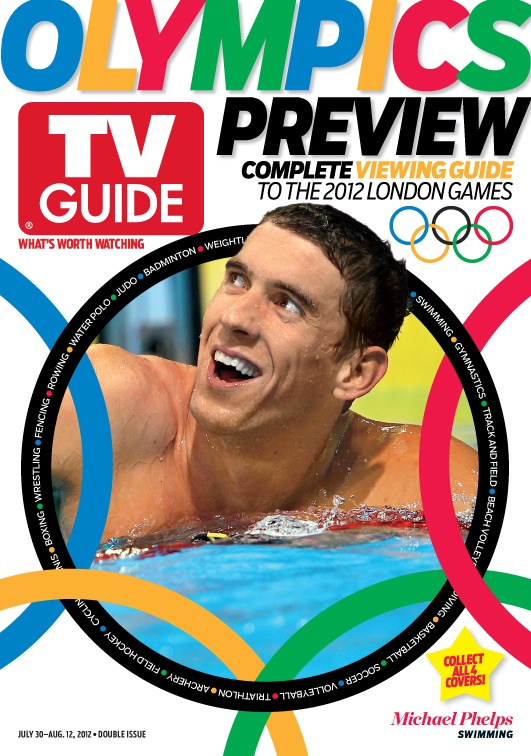 July 30/August 6, 2012. London Olympics featuring U.S. swimmer Michael Phelps