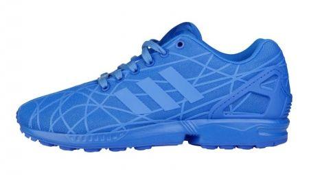 adidas ZX Flux blue (via Foot Locker)