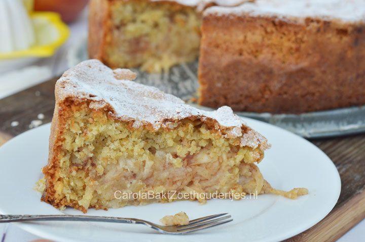 Deze bijzondere appel-havermouttaart is een recept uit Tirool. Deze dichte appeltaart bevat iets minder suiker en boter en lekker veel appel.