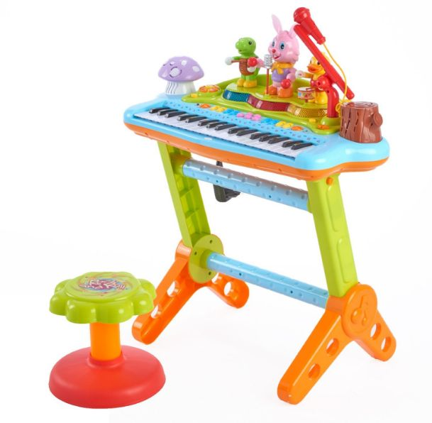 Best Child's Keyboard And Stool! - Bongos Congas & Drum Sets For Kids!