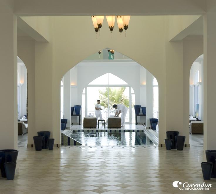 Coco Ocean Resort, U kunt heerlijk ontspannen in het grootse Spa Centrum van Gambia met Hamam, thalasso bad, sauna, stoombad en behandelkamers