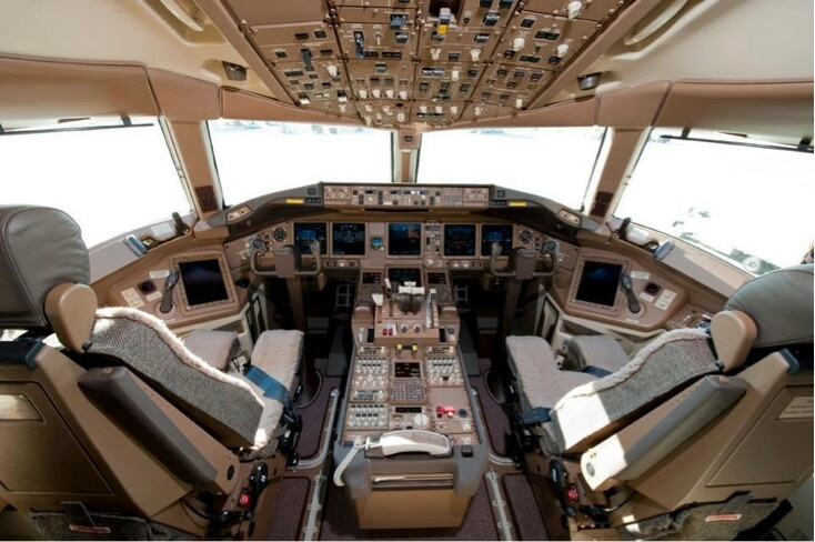 Cockpit (by Turkish Airlines)