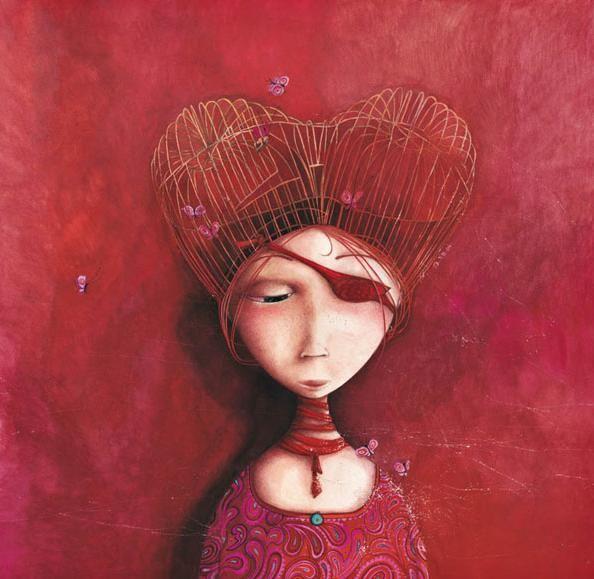 Rebecca Dautremer.  Princesas de ensueño.