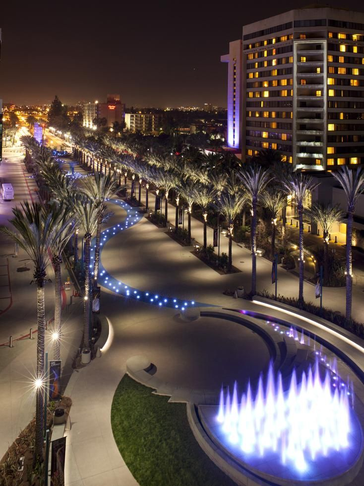 Anaheim California USA Grand Plaza