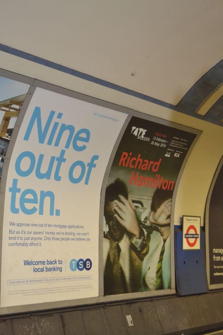 Advertisements on the underground
