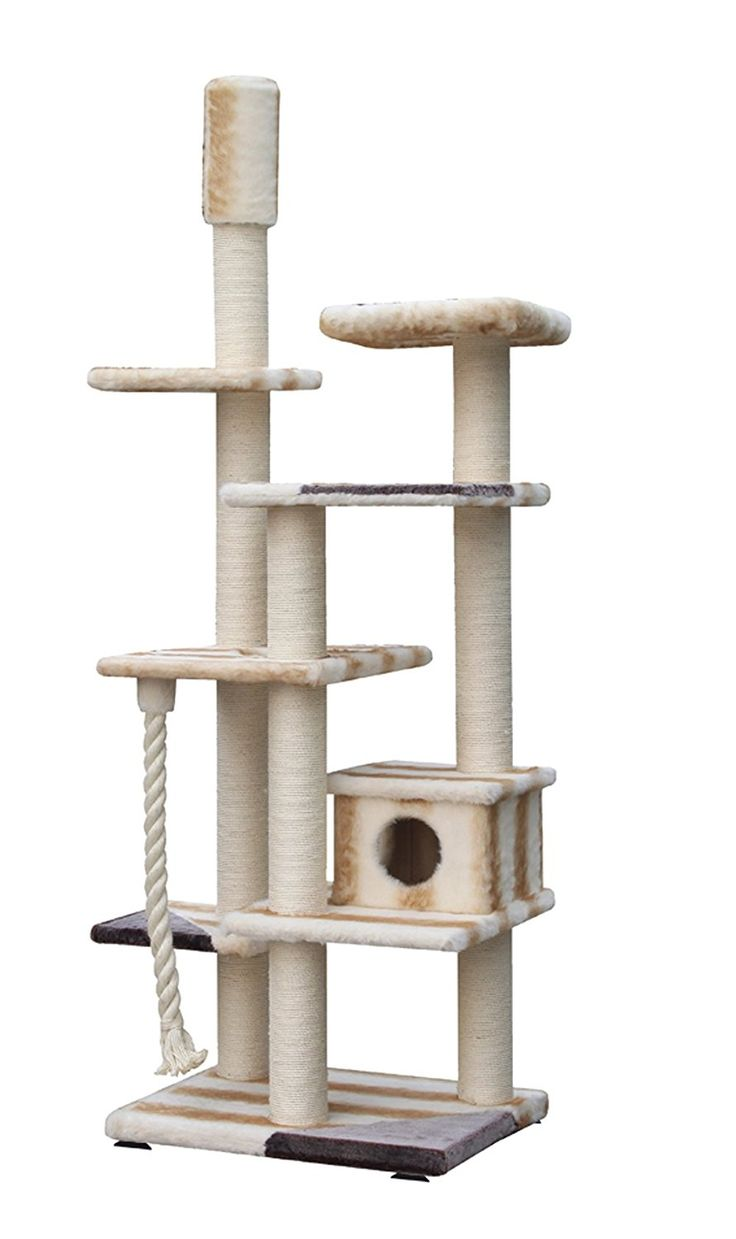 The Cat Scratcher Escaro, Is A Beautiful, Luxury, Cat Tree From World