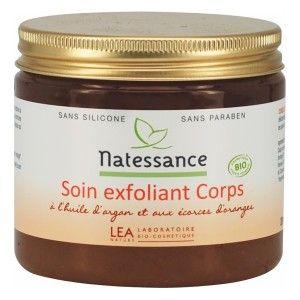Réussir son #soin du #corps avec un #exfoliant bio. En vente chez mesproduits-sante.com.