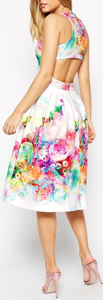 watercolor like florals <3