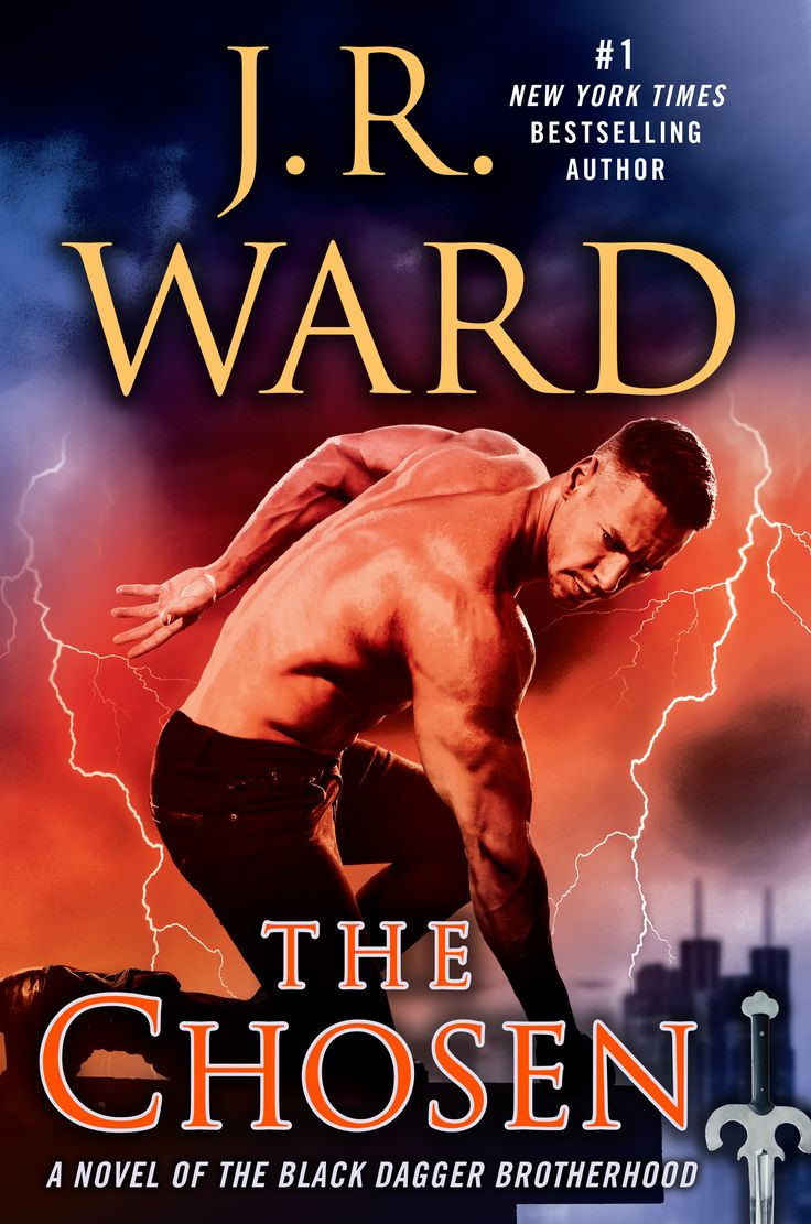 Jr Ward Continues Her Black Dagger Brotherhood Series With The Chosen,  Out April 4,
