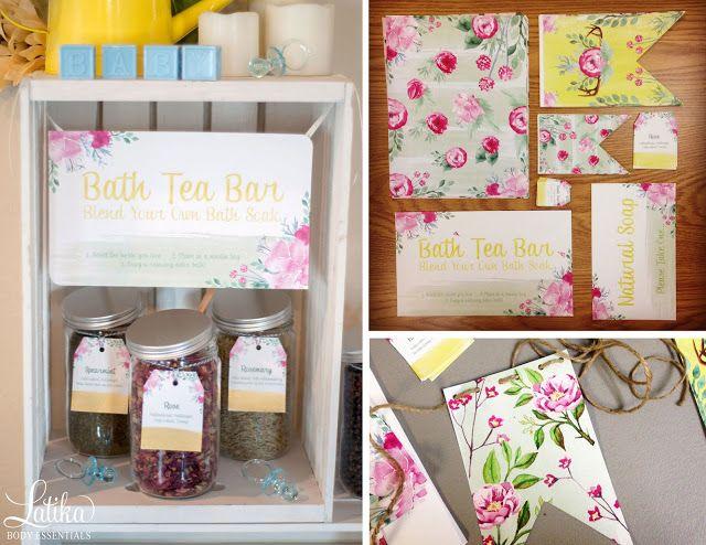 garden tea party my dreamy baby shower latika body essentials