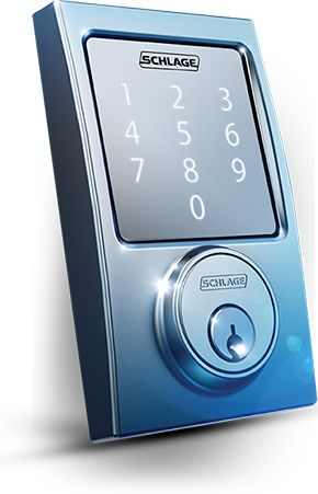 Alongside an illuminated touchscreen keypad, Schlage's newest lock, Schlage Sense, uses Bluetooth technology to let owners use their smartphone as a wireless front-door key for convenient entrance. The system is designed to work with Apple HomeKit technology, which provides advanced security and encryption and even allows homeowners to control the lock using Siri. Products Displayed at CES | Builder Magazine