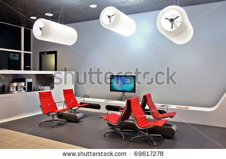 modern interior in waiting hall by ariadna de raadt, via Shutterstock