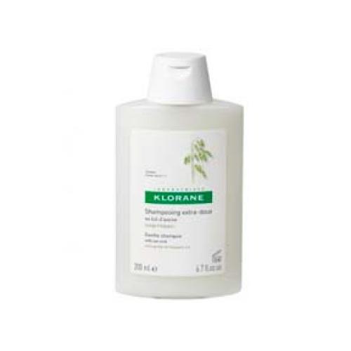 Klorane Shampoo Avena  - 200Ml (Shp Avoine) Shampoo extrasuave con leche de avena, para el cuidado diario del cabello. Respeta el equilibrio del cabello, da brillo, suaviza y protege los cabellos y el cuero cabelludo.
